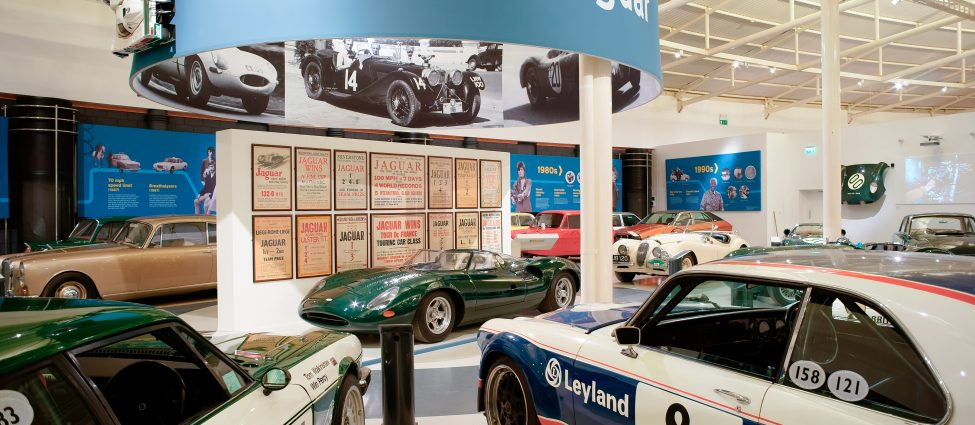 Coventry Attraction Jaguar Gallery at British Motor Museum