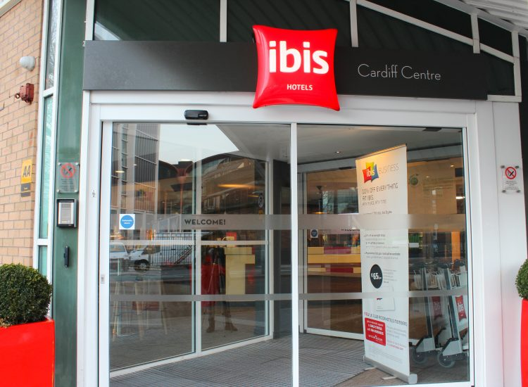 Ibis Cardiff Front Entrance - Fairview Hotel Collection