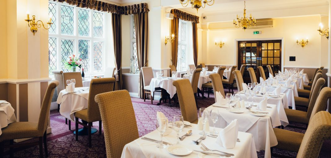 Mercure Letchworth Hall Hotel Lyttons Restaurant
