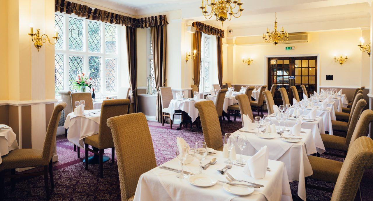 Mercure Letchworth Hall Hotel Lyttons Restaurant