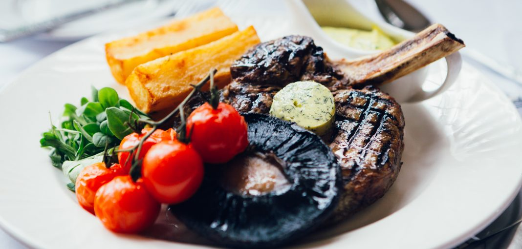 Mercure Letchworth Hall Food - Steak