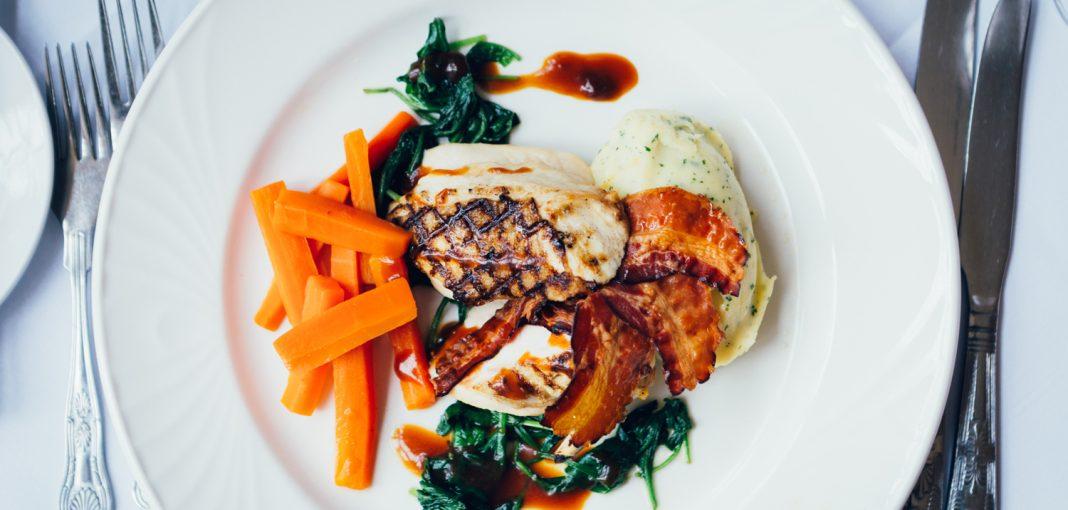 Mercure Letchworth Hall Food - Chicken