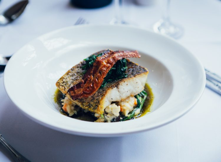 Mercure Letchworth Hall Food - Fish