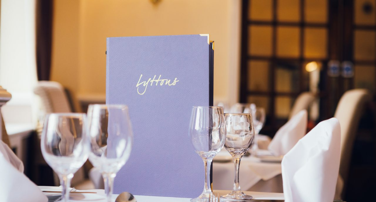 Mercure Letchworth Hall Restaurant - Menu