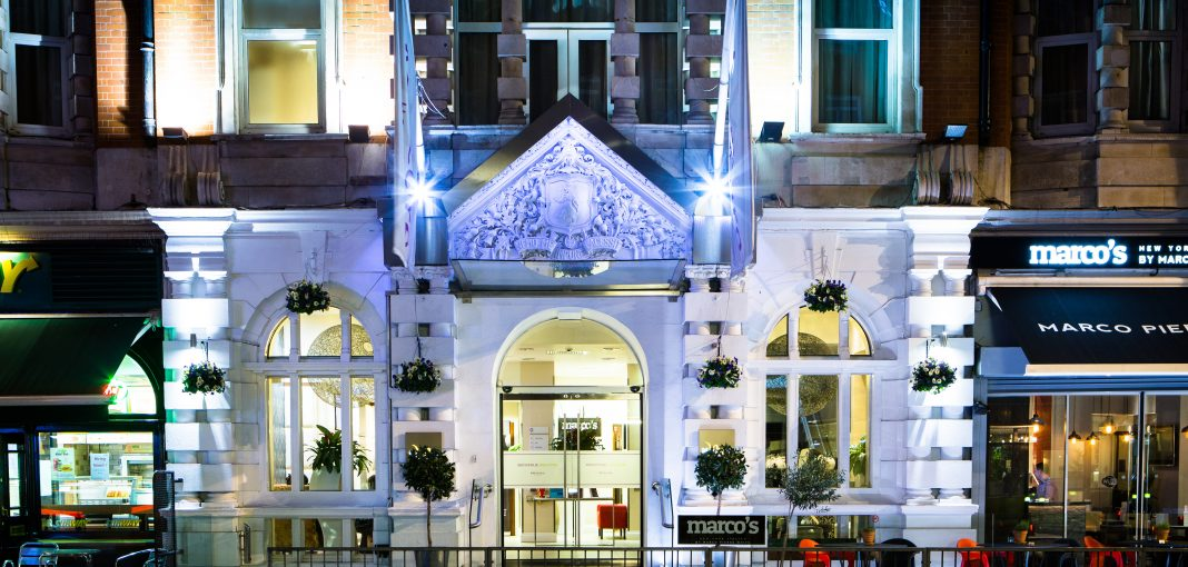 Mercure London Bloomsbury Hotel Exterior and Marco Pierre White's