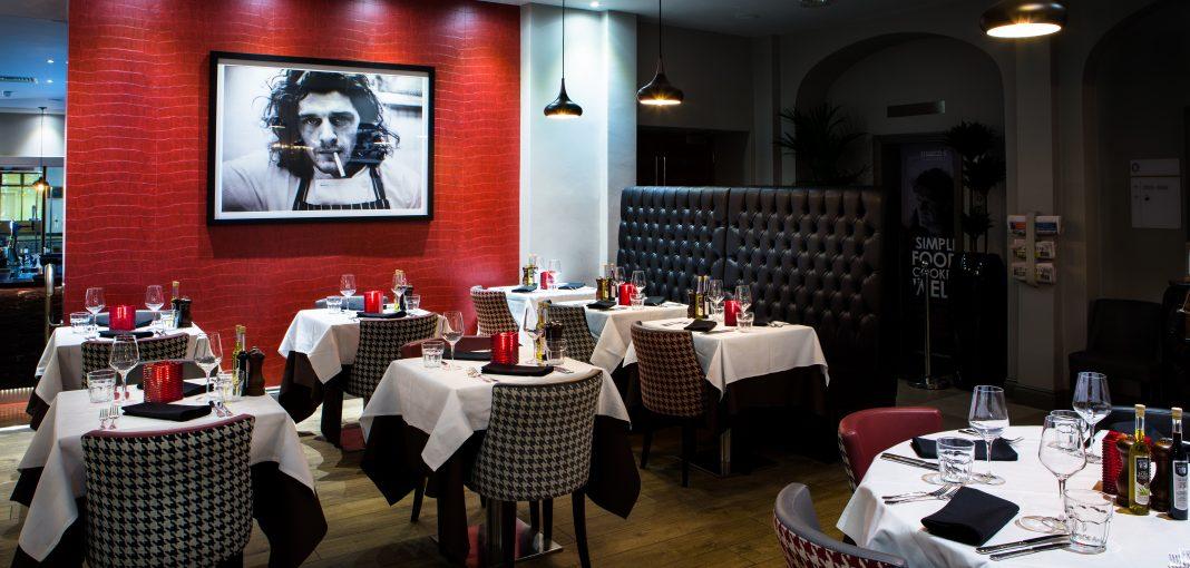 Mercure London Bloomsbury Marcos Restaurant Tables