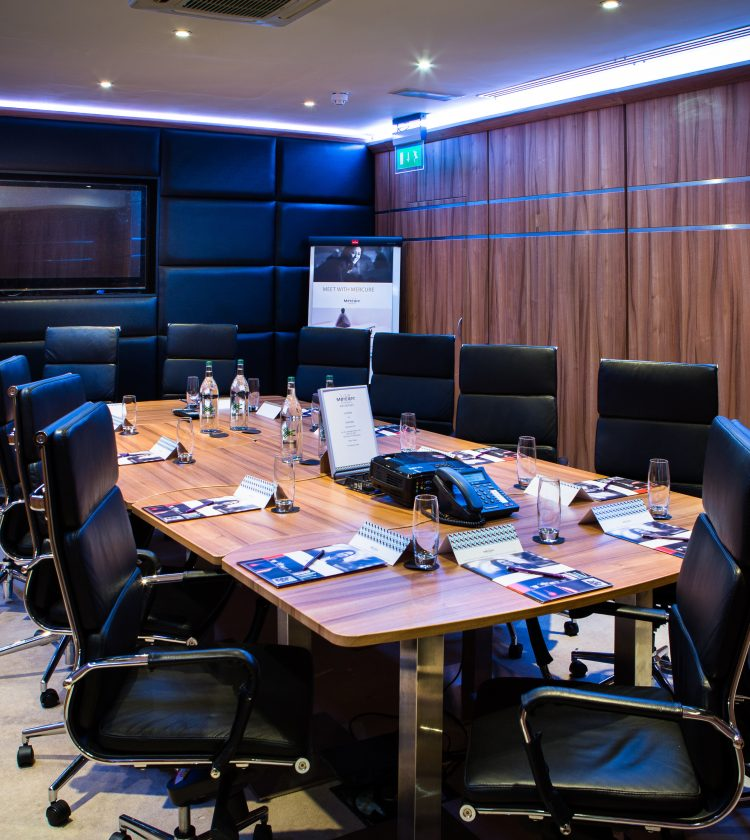 Mercure London Bloomsbury Meeting Room