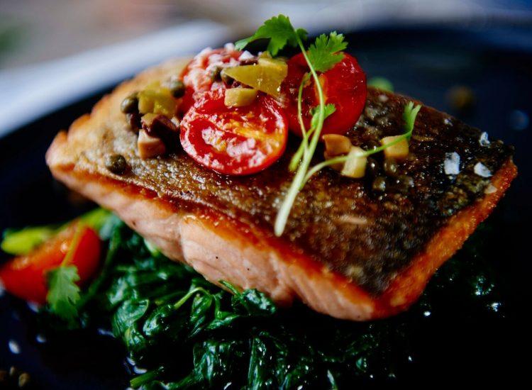 Mercure London Bloomsbury Restaurant - Salmon