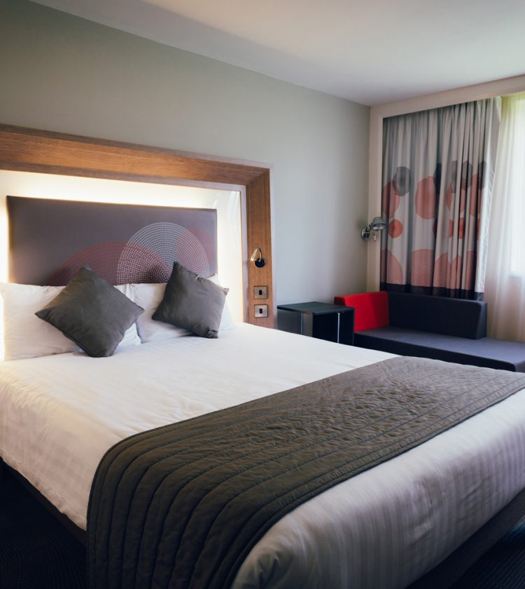 Novotel Hotel Notttingham Derby, double bed