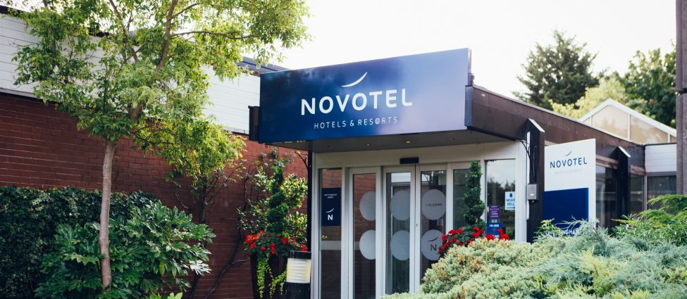 Novotel Nottingham Hotel Entrance