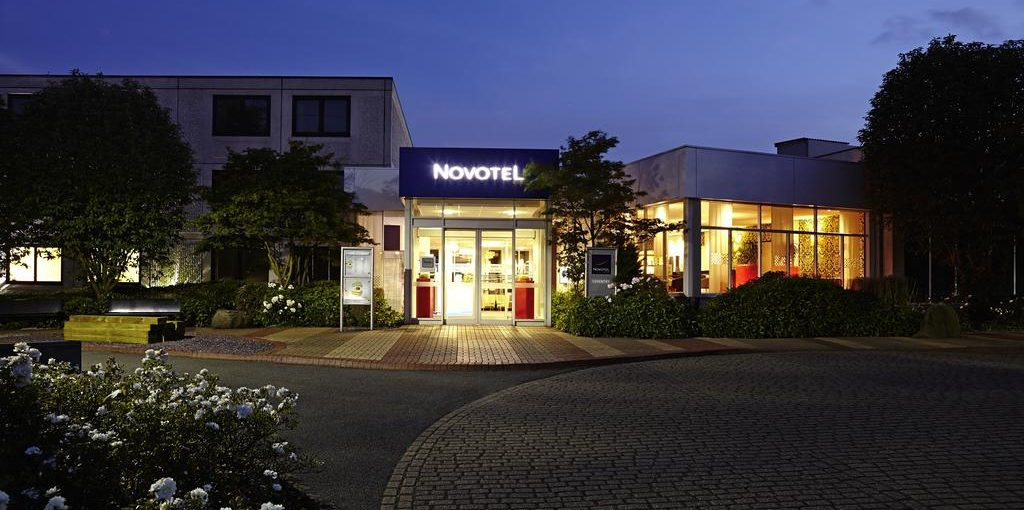 Novotel Coventry Front Entrance