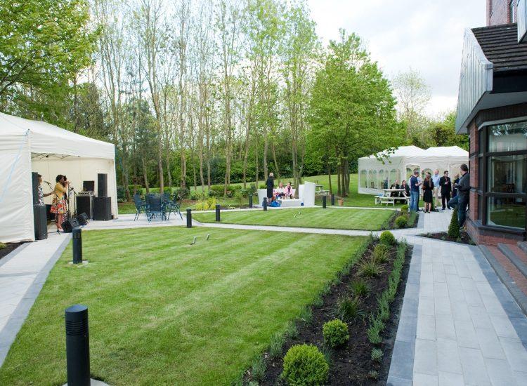 Novotel Newcastle Hotel Weddings Marquee in Garden