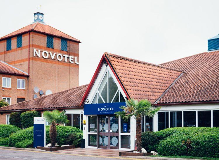 Novotel Stevenage Hotel Exterior Closeup