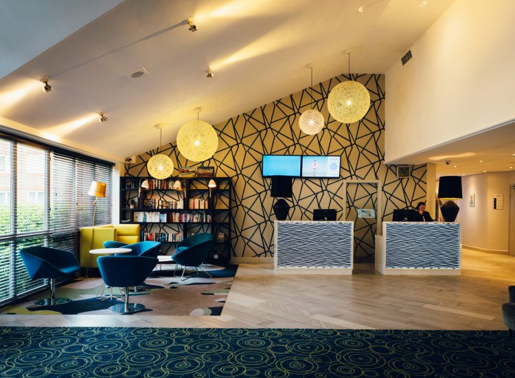 Novotel Stevenage Hotel Reception area