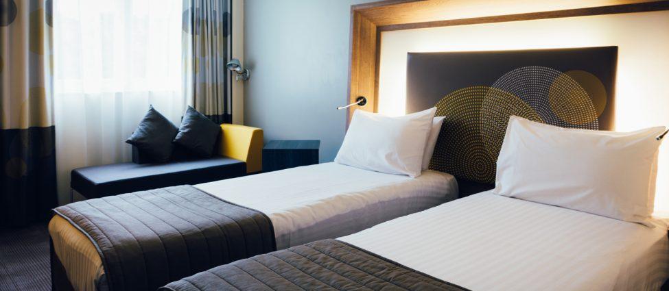 Novotel Stevenage Hotel Twin Room